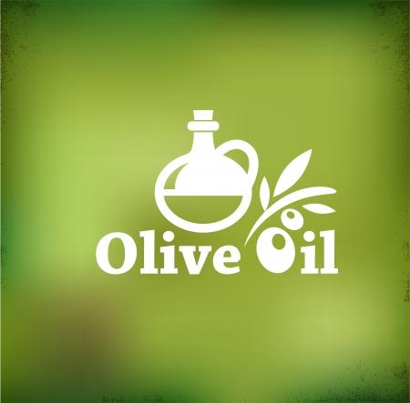 Olive oil backgound photo