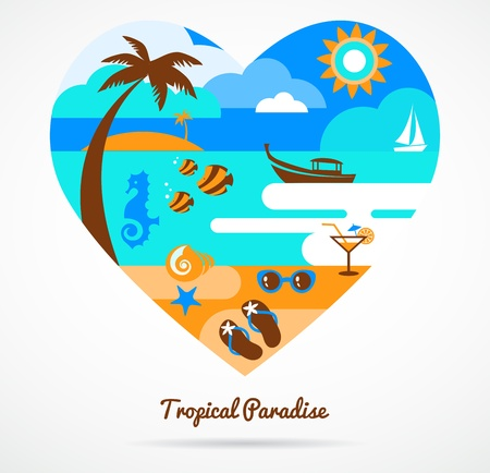 tropical paradise: I love tropical paradise