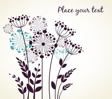 blowing: Dandelions flowers