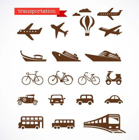 はしけ: 交通機関のアイコンを設定