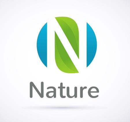 icône de l'écologie verte