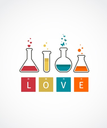 Chemistry of Love, Valentines day card