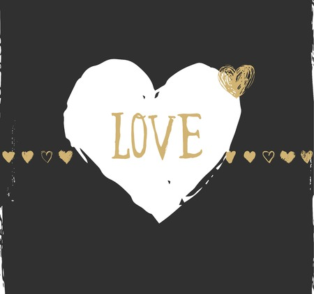 i label: valentines day and wedding greeting card and invitation