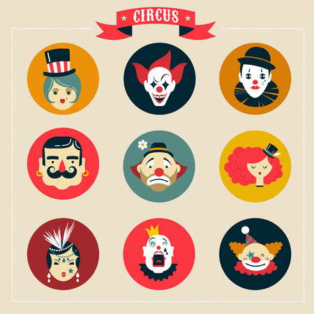 butch: Vintage Circus, freak show icons and hipster characters