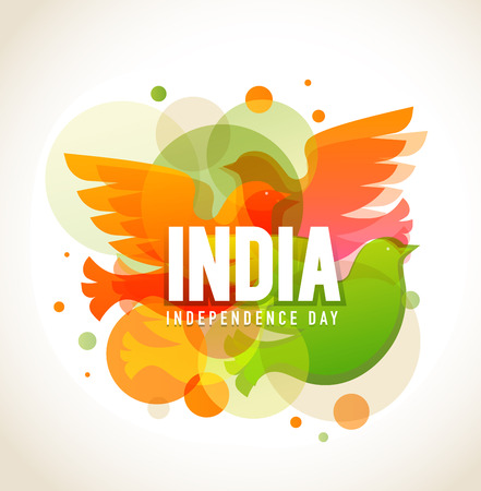 3d dove: Independence Day of India