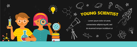 Young scientist - education, research and school