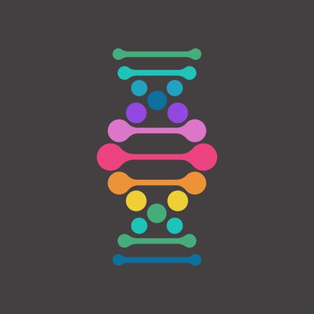 evolucion: ADN, elemento genético y el icono