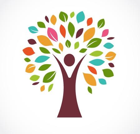groene tre - logo en het pictogram
