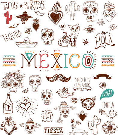 skull icon: Mexican