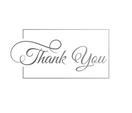 felicitaciones: Gracias, cartel y la tarjeta Vectores