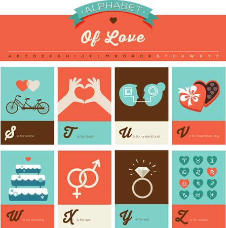 Valentines day and love abc alphabet poster and greeting cards valentines day and love abc alphabet poster and greeting cards royalty free cliparts vectors and stock illustration image 50080053 m4hsunfo