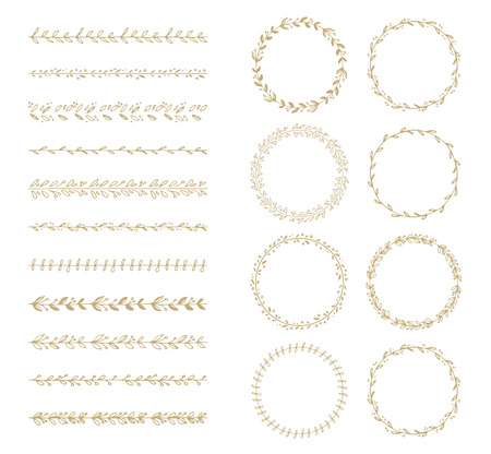 wreath collection: brush and laurel wreath collection
