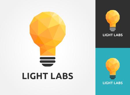 Light bulb - idea, creative, technology icons and elements Illustration
