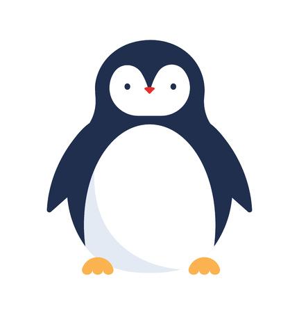 Cute penguin icon
