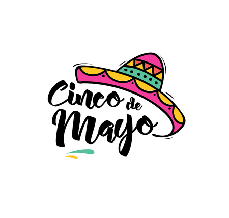 Cinco de Mayo, Mexican holiday, greeting card, poster and banner
