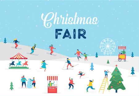 Christmas card design.