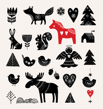 크리스마스 카드 디자인입니다.