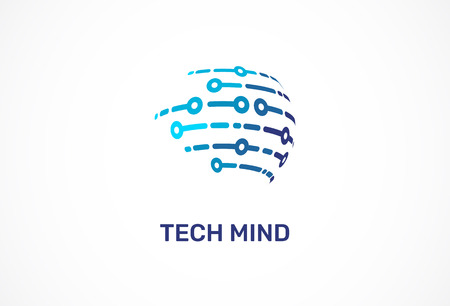Logo - technology, biotechnology, tech icon and symbol Logo
