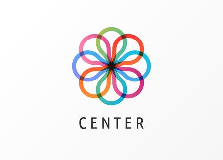 Modern logo innovative concept - technology, biotechnology, tech icon and symbol