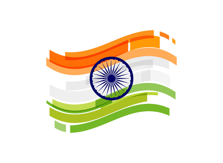 Indian Republic Day concept design, banner, poster and emblem