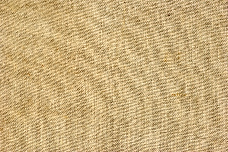 texture old canvas fabric as background