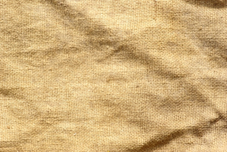 burlap texture: close up of sack  background