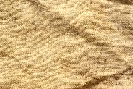 close up of sack  background