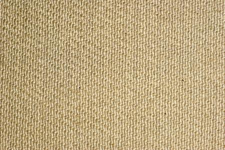 tela algodon: cerca de textura de saco Foto de archivo