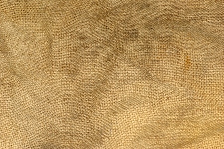 texture old canvas fabric as background photo