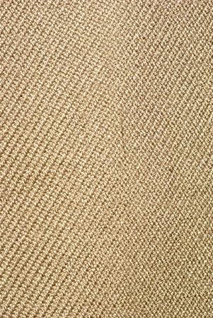 brown flax: close up of sack texture