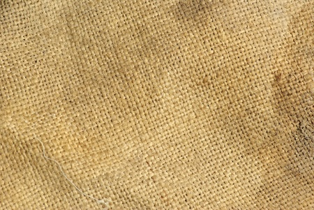 burlap background: close up of sack texture