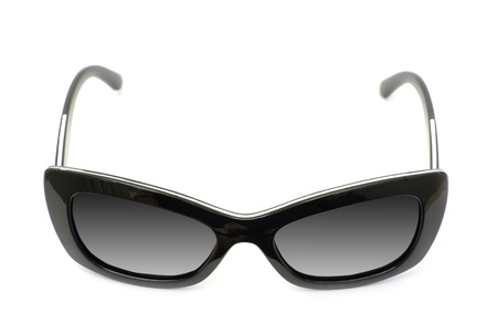 Sunglasses isolated against a white background photo