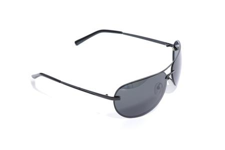 Black sunglasses isolated on white Stock Photo - 11512754