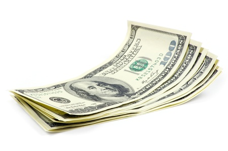 argent, isolé sur un fond blanc
