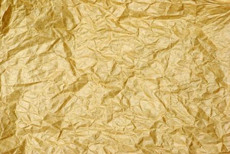 wrinkled paper: Crumbled grunge vintage old paper