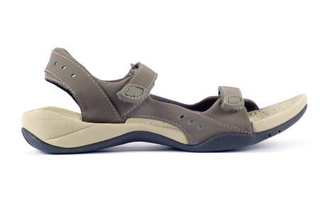 female sandals over white background Stock Photo - 24034094