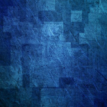 Zusammenfassung blauem Hintergrund