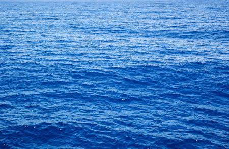 sea water: Blue sea water in calm Stock Photo