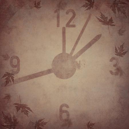 vintage clock: Vintage clock