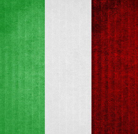 the italian flag: bandiera Italia Archivio Fotografico