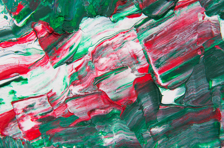 pained: abstract pained canvas