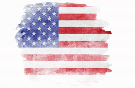 vintage grunge: Grunge USA Flag Stock Photo