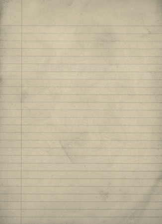 lined paper: Vintage Grungy Lined Paper