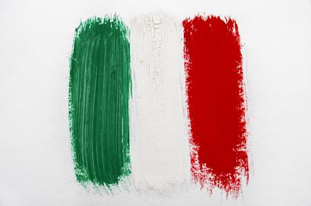 Pennellata Flag Italia