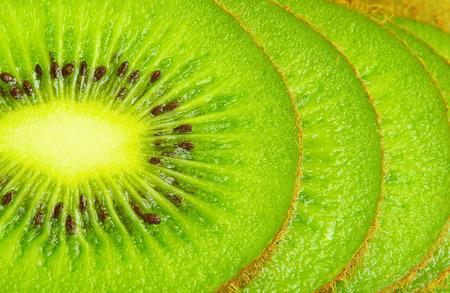 Close up on Kiwi fruit Stock Photo