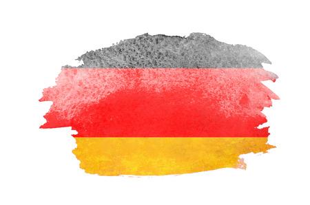 brushstroke: Flag of Germany