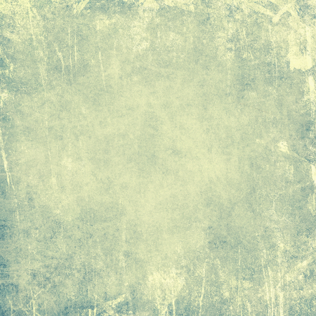 blue retro background with texture of old paper
