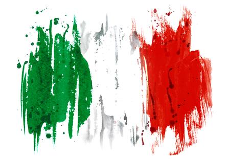 flag of Italy Stockfoto