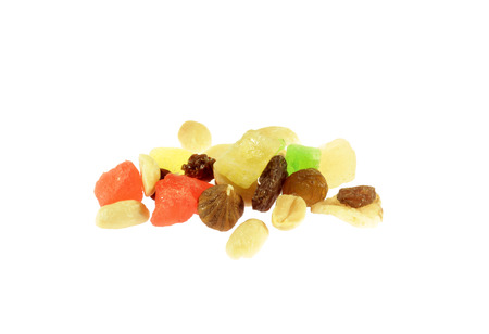dried fruits isolated  photo