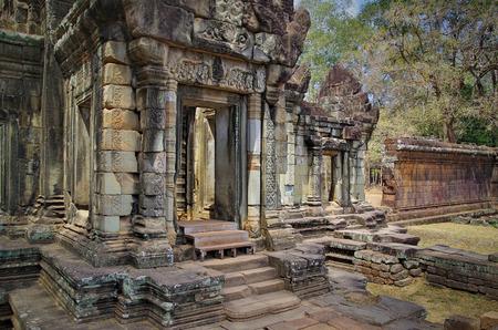 Pavilion on the Terrace of the Elephants. Angkor - . Cambodia, Siem Reap, Angkor Thom